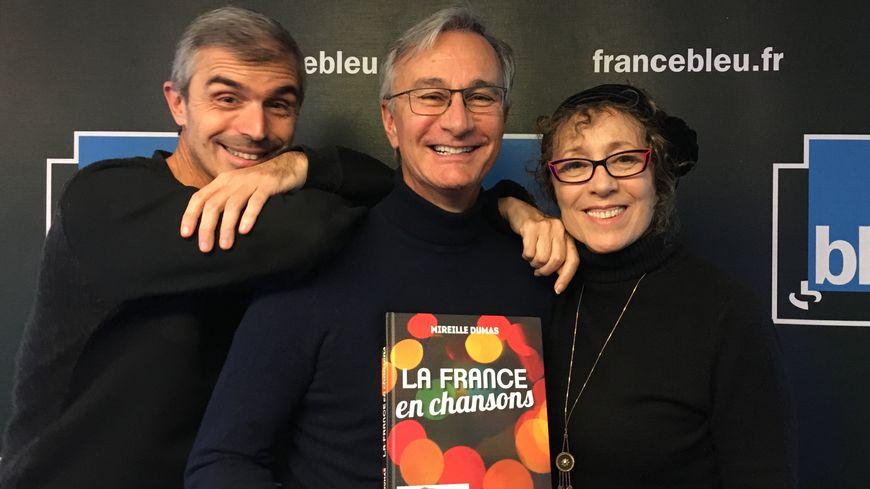 Patrice Gascoin et Mireille Dumas