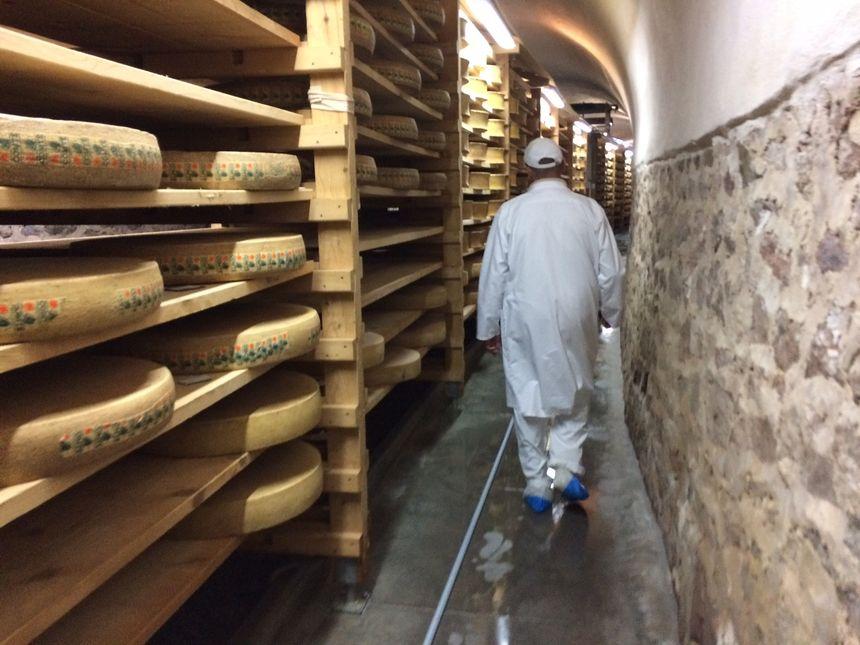 Une ancienne voie ferrée reconvertit en cave à fromage