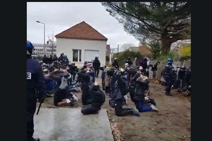 Vidéo des lycéens arrêtés