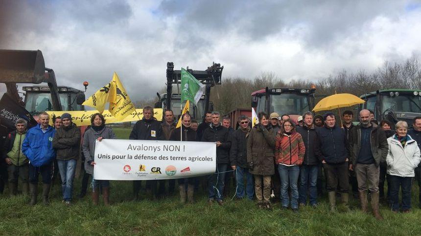 Fait rare, l'ensemble des syndicats se mobilise contre le projet Avalonys.