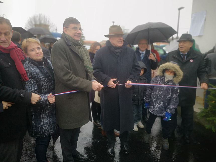 Le village a été inauguré samedi, par les enfants et les élus du départements.