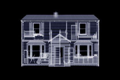 Une maison aux rayons X