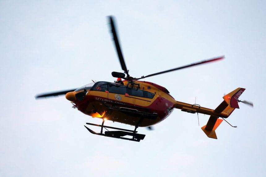Une femme de 36 ans a été évacuée par hélicoptère