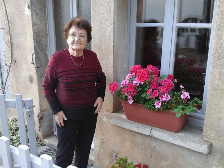 Cécile Thouret, présidente de l'association Jallerange Patrimoine