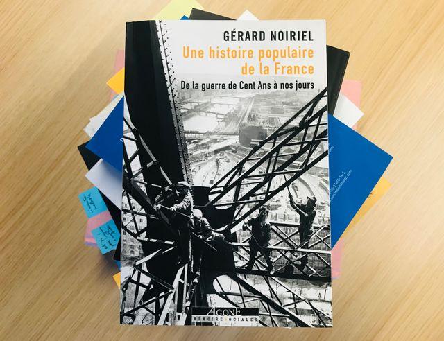 """""""Une histoire populaire de la France"""" de Gérard Noiriel"""