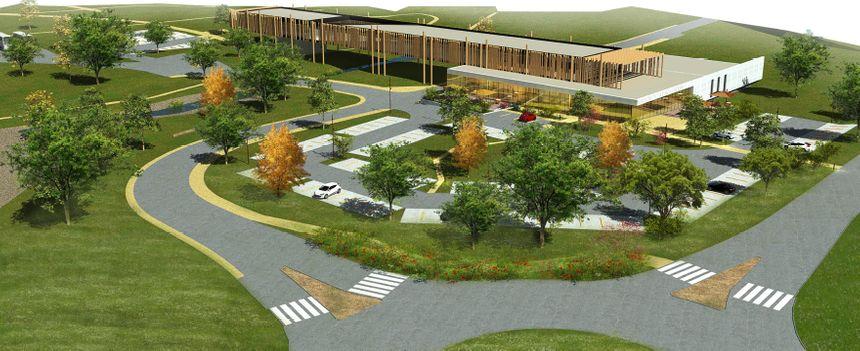 Vue du projet de maison de la parthenaise