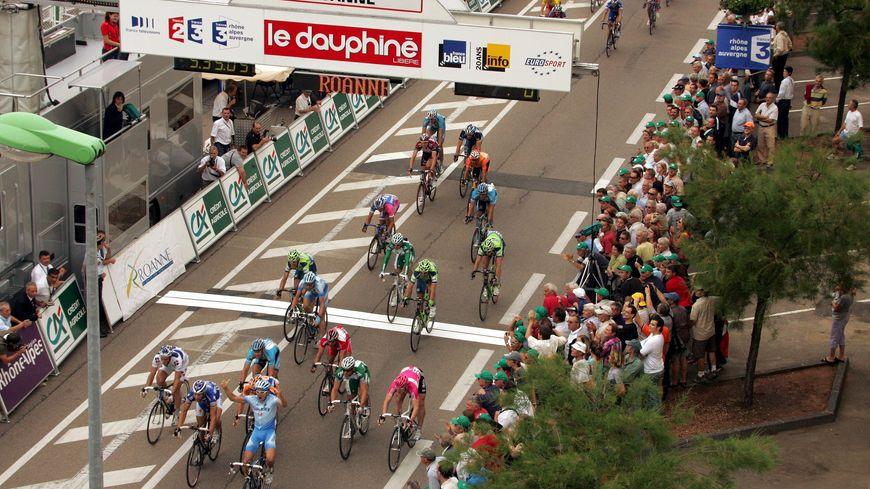 Le Dauphiné est arrivé à Roanne en 2007 lors de la 1ère étape partie de Grenoble.