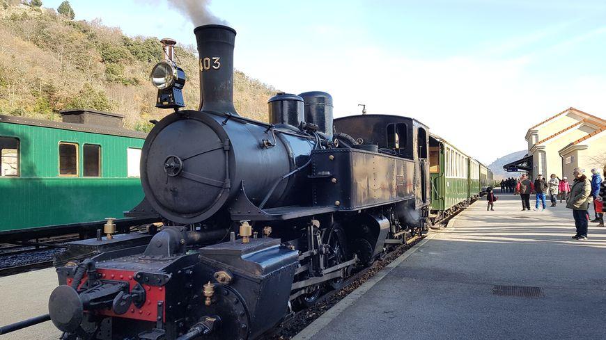 Le Mastrou, l'autre nom du train de l'Ardèche qui relie Tournon à Lamastre depuis plus de 120 ans
