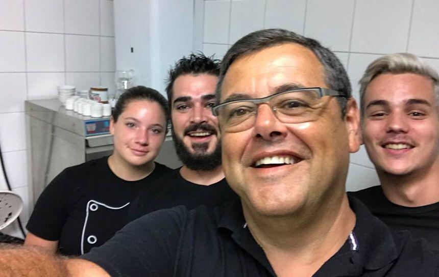 Gilles Taliani et son équipe