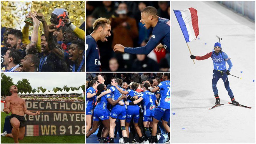 La France encore à l'honneur en 2018