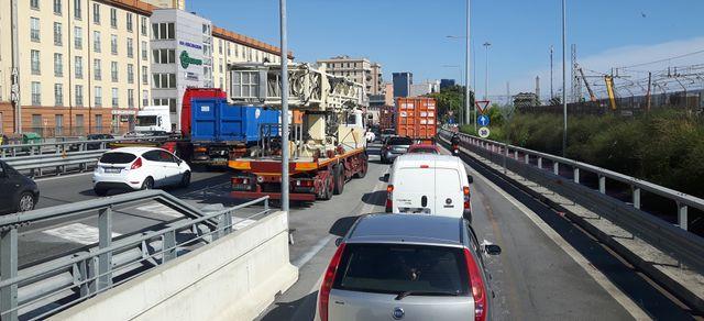 Depuis l'écroulement du pont, la circulation est chaotique à Gênes