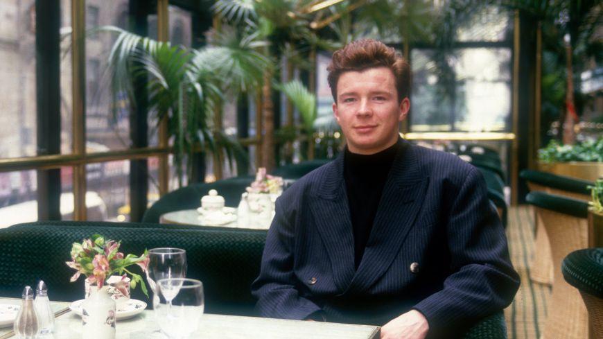 Rick Astley en 1988 à New York City.