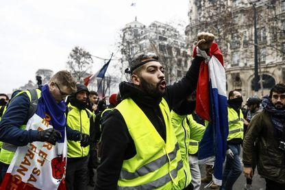 """Manifestation de """"gilets jaunes"""" à Paris, samedi 08 décembre 2018"""