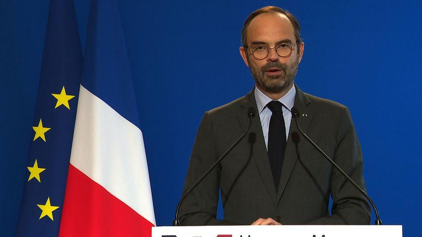 Édouard Philippe à Matignon, le 4 décembre 2018.