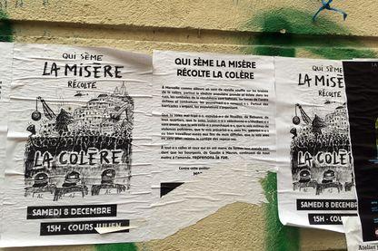 À quelques encablures de la rue d'Aubagne, l'émotion a laissé place à la colère, notamment autour du marché des Capucins.