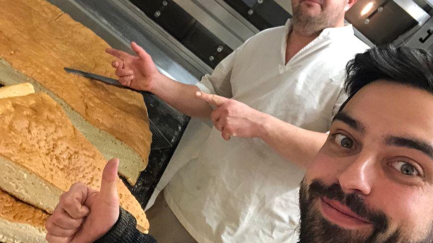 Mickaël Journo veut confectionner un burger de 400 kilos