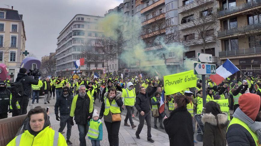 Pour la première fois depuis le 17 novembre, la manifestation a été déclarée en préfecture.