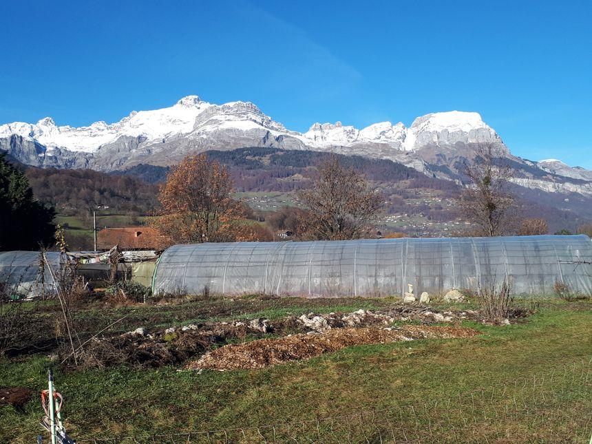 Deux hectares de terre idéalement situés dans la vallée de l'Arve