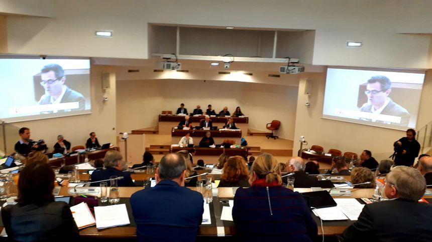 Session du conseil départemental de Loire-Atlantique, le 17 décembre 2018