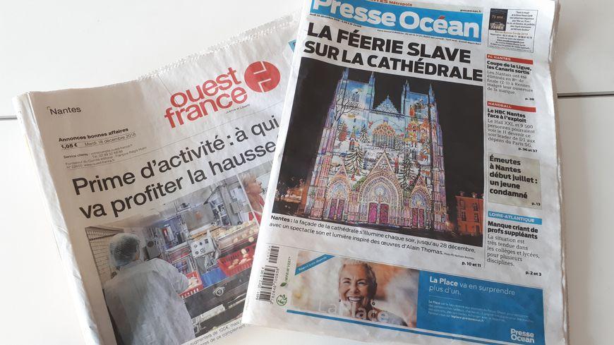 Toutes les éditions de Ouest-France et Presse Océan n'ont pas pu être distribuées ce jeudi matin (photo d'illustration)