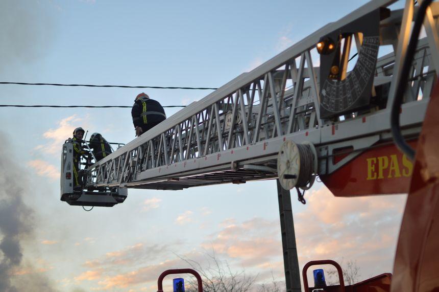 Les pompiers du Gard sont intervenus vers 16 heures.