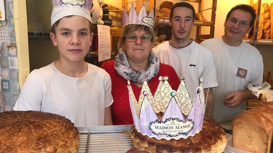 La boulangerie Massé reverse un euro au Secours populaire à chaque galette vendue.