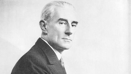 Portrait de Maurice Ravel dans les années 1920