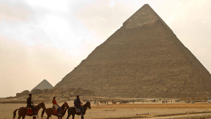 Les pyramides de Gizeh (Egypte) en 2011