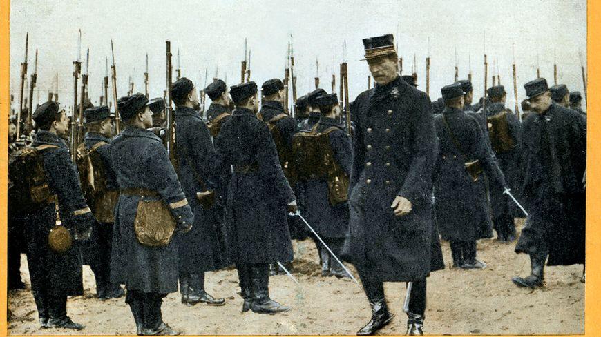 Albert 1er et ses troupes lors de la Grande Guerre.