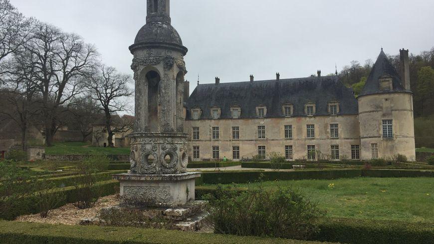 Le château de Bussy-Rabutin près de Venarey-les-Laumes dans l'Auxois