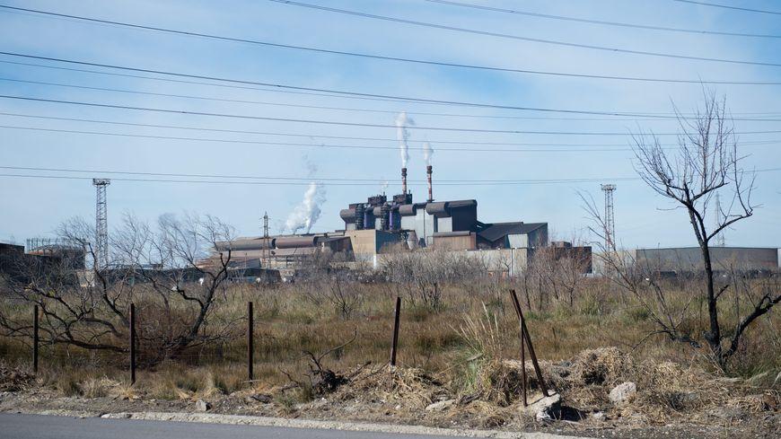 L'usine d'ArcelorMittal à Fos-sur-Mer