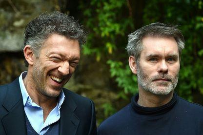 L'acteur Vincent Cassel et le réalisateur Jean-Francois Richet (Rome, 15 mars 2016).