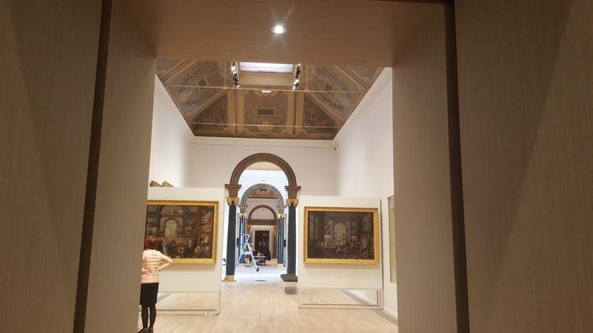 La grande galerie du Musée Girodet est prête à accueillir les premiers visiteurs