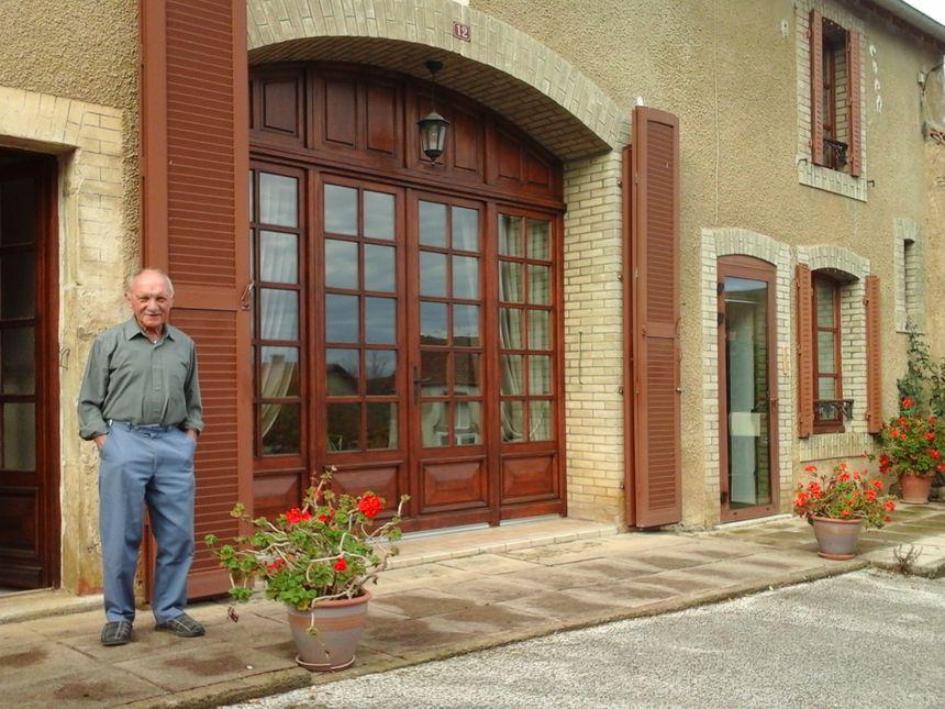 Robert Guyot, l'un des anciens du village