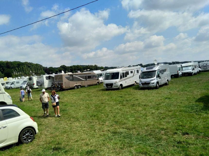 Les camping-cars en force en Bretagne.