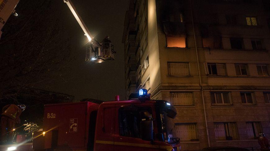 Environ 50 pompiers ont été mobilisés.