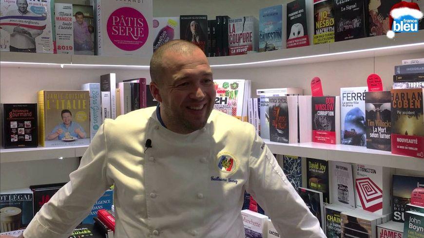 Guillaume Gomez, le chef de l'Élysée, a écrit un livre de cuisine pour enfants.