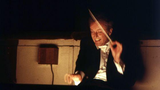 The German director Carlos Kleiber conducting the Teatro alla Scala orchestra. Milan, 1978, © Giorgio Lotti/Mondadori Portfolio, © Getty,