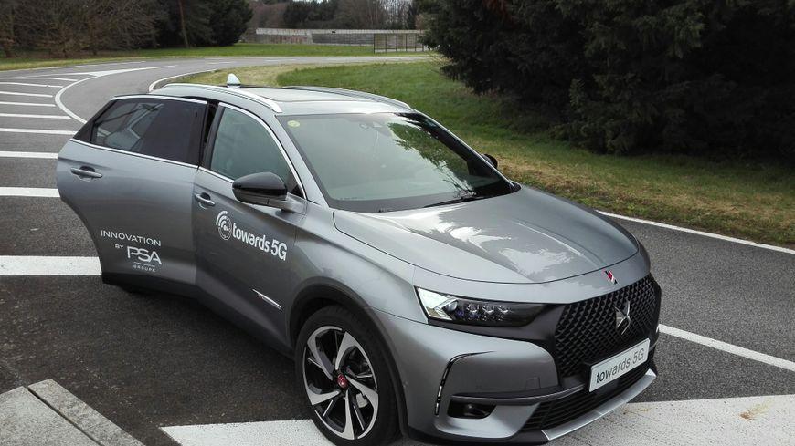 La nouvelle DS7, la première voiture autonome de PSA.