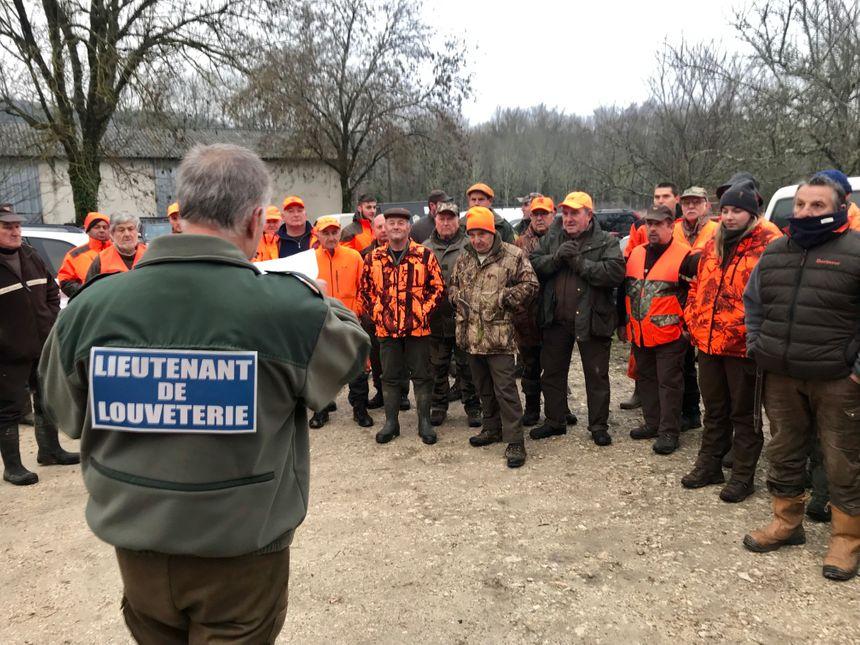 Près de 70 chasseurs ont participé à cette deuxième battue administrative sur mission préfectorale