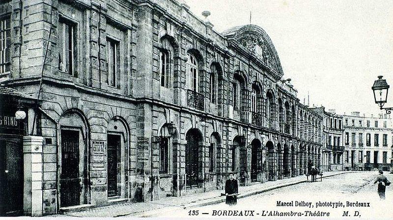 L'Alhambra fût une salle mythique de Bordeaux
