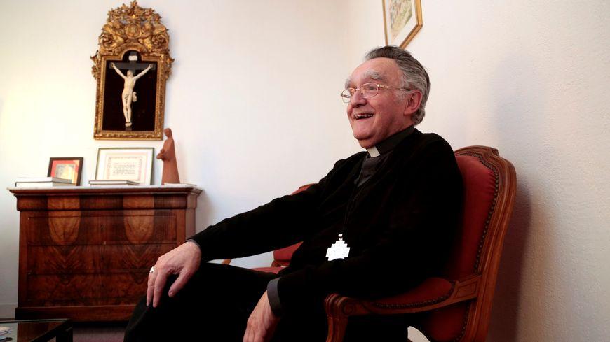 Monseigneur Georges Pontier, évêque de Marseille sur France Bleu Provence.
