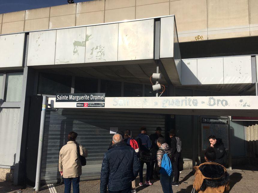 Fermeture de la station Sainte Marguerite Dromel