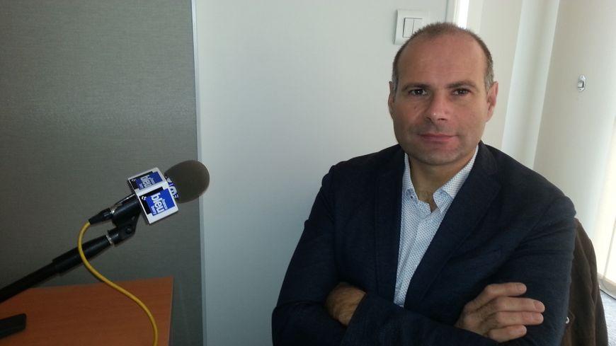 Arnaud Lespagnol, président de la FDSEA du Cher