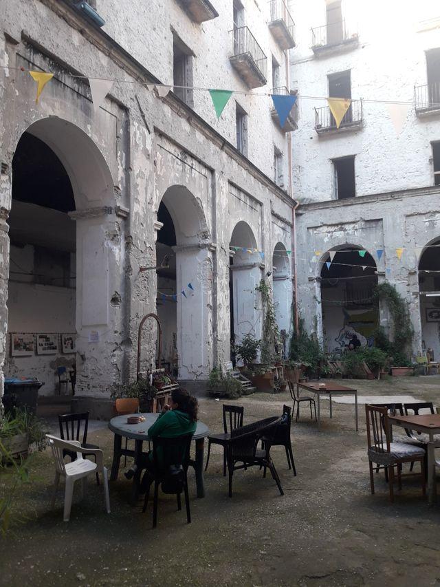Santa Fede Liberata, centre social autogéré, Naples.