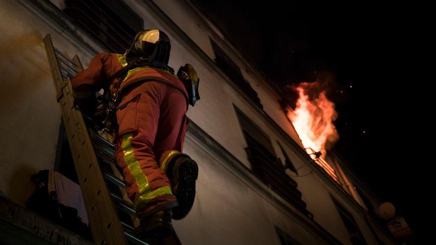 Incendie avenue Wilson à Saint -Denis le 25 décembre 2018
