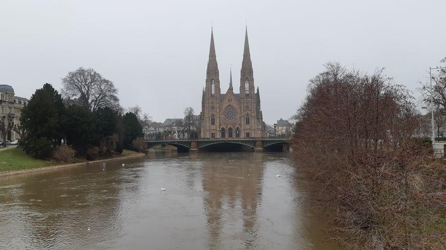 Le niveau du Rhin monte entre Colmar et Lauterbourg 8abfdbeebd2
