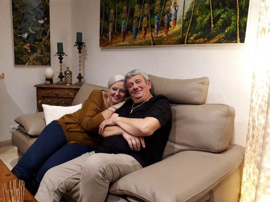 Michel Labbé et sa sœur Daria.