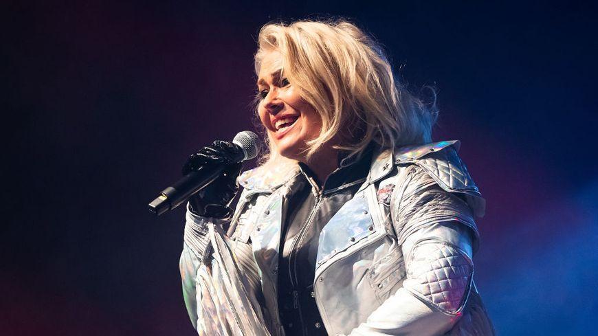 Kim Wilde en concert à Berlin en octobre 2018.