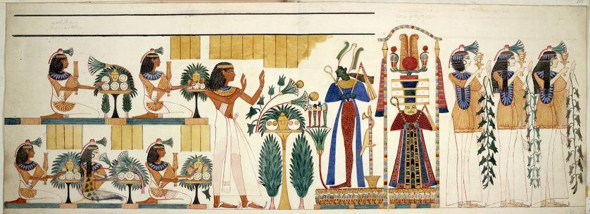 Egyptologie La Palette Des égyptiens Aux Rayons X